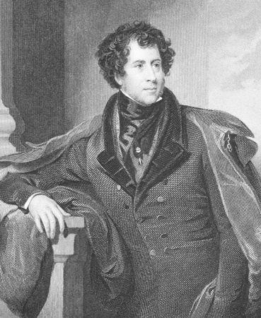whig: Constantine Henry Phipps, 1st Marquess of Normanby (1797-1863) on engraving from the 1800s. British Whig politician and author. Engraved by H.Robinson after a painting by H.P.Briggs and published by Fisher, Son and Co in 1847.