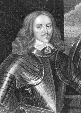 nobleman: Edward Somerset, 2nd Marquess of Worcester (1601-1667) on engraving from the 1800s. English nobleman involved in royalist politics and an inventor. Engraved by Harding and published in London by Cadell & Davies Strand in 1800.