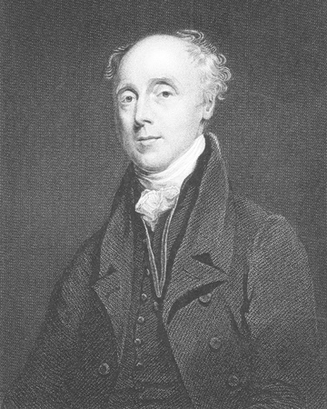 Francis Wrangham (1769-1842) on engraving from the 1800s. Archdeacon of East Riding, author, translator, book collector and abolitionist. Engraved by R.Hicks after a painting by J.Jackson and published by Fisher, Son & Co, London in 1846. Editorial