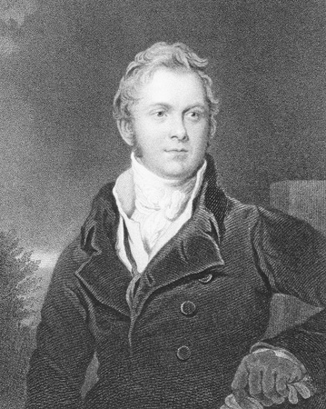 statesman: Frederick John Robinson (1782-1782) on engraving from the 1800s. 1st Viscount Goderich, British statesman and Prime Minister. Engraved by J.Jenkins from a painting by T.Lawrence and published by P.Jackson.
