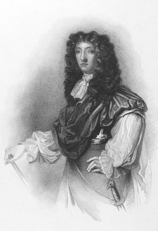 nobleman: John Graham, 1st Viscount of Dundee (1648-1689) on engraving from the 1800s. Scottish soldier and nobleman, a Tory and an Episcopalian. Engraved by G.B. Shaw after a painting by Peter Lely and published by R.Cadell.