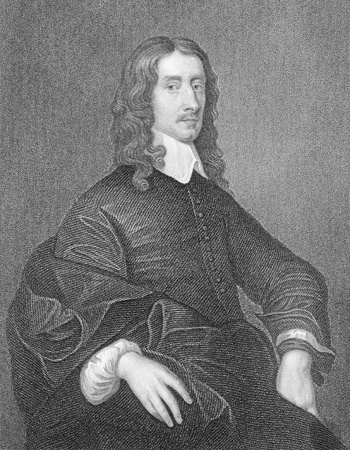 John Selden (1584-1654) on engraving from the 1800s. English jurist, scholar and polymath. Engraved by W.Holl  and published by the London Printing and Publishing Company.