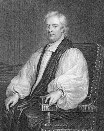 John Tillotson (1630-1694) on engraving from the 1800s. Archbishop of Canterbury during 1691-1694. Engraved by W.Holl and published by the London Printing and Publishing Company. Editorial