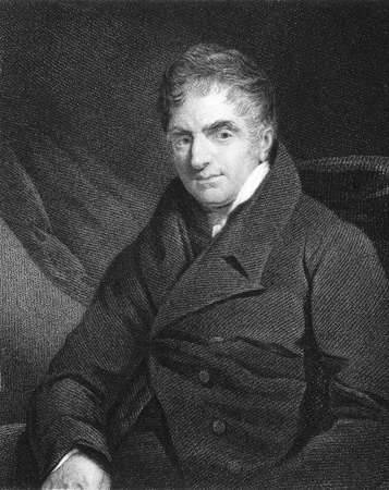 clergyman: Reverend William Holwell Carr (1758-1830) on engraving from the 1800s. Clergyman with a rich benefice in Cornwall who delegated his pastoral duties and devoted his life to art. Engraved by B.Holl from a picture by Jackson and published in London by J. & F