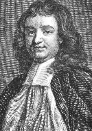 gilbert: Gilbert Burnet (1643-1715) on engraving from the 1700s. Scottish theologian and historian, Bishop of Salisbury.