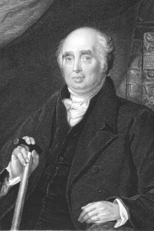 whig: Henry Richard Vassall-Fox, 3rd Baron Holland, of Holland, 3rd Baron Holland, of Foxley (1773-1840) on engraving from the 1800s. English politician and a major figure in Whig politics. Engraved by H.Robinson from a painting by C.R.Leslie. Editorial