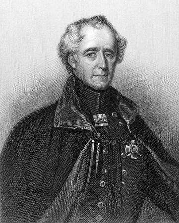 hugh: Hugh Gough, 1st Viscount Gough (1779-1869) on engraving from 1840. British Field Marshal. Engraved by H.B.Hall and published by P.Jackson, London & Paris.