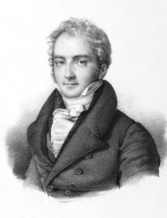 Jean Paul Pierre Casimir-Perier (1777-1832) on engraving from the 1800s. French politician, 11th Prime Minister of France. Engraved by Lemercier in Paris, 1850. Stock Photo - 9247080