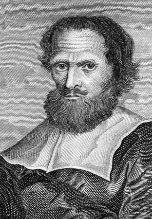 herboristeria: Simon Forman (1552-1611) en grabado desde el siglo XVIII. M�s popular astr�logo isabelina, ocultistas y herbolario en Londres durante los reinados de la reina Isabel I y Jacobo I.