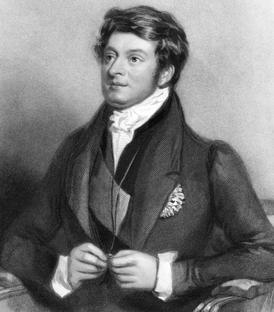 Charles Manners-Sutton, 1st Viscount Canterbury (1780-1845) on engraving from 1838. British Tory politician who served as Speaker of the House of Commons during 1817-1835. Engraved by H.B.Hall after a painting by A.E.Chalon Stock Photo - 9488598