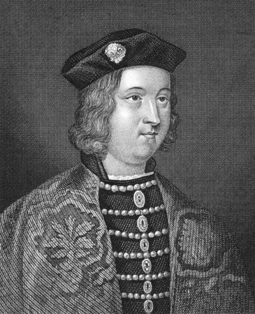 Edward IV of England (1442-1483) on engraving from 1830. King of England during 1461-1470. Published in London by Thomas Kelly. Stock Photo - 9488556