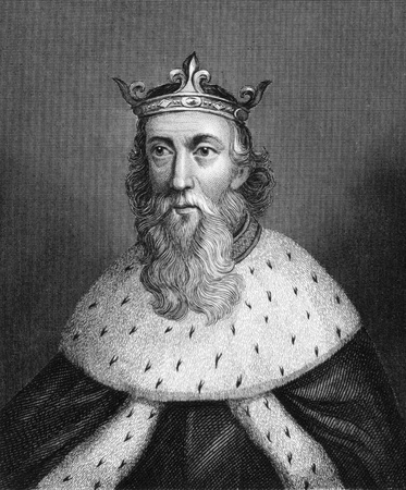 kelly: Henry I of England (1068-1135) on engraving from 1830. King of England during 1106-1135. Published in London by Thomas Kelly.