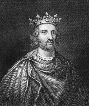 henry: Henry III of England (1207-1272) on engraving from 1830. King of England during 1216-1472. Published in London by Thomas Kelly.