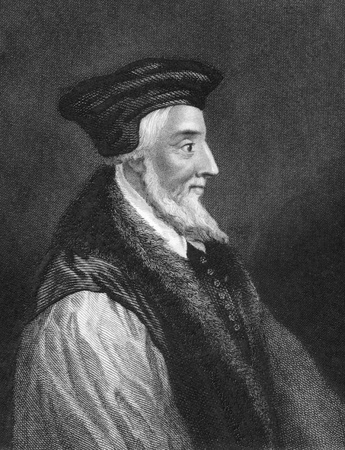hugh: Hugh Latimer (1487-1555) on engraving from 1838. Fellow of Clare College, Cambridge, Bishop of Worcester and later Church of England chaplain to King Edward VI.  Engraved by J.Rogers after a painting by A.vander Werff and published by J.Tallis & Co.