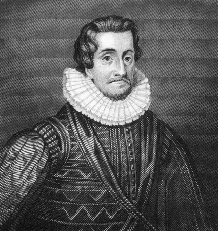 James I (1566-1625) on engraving from 1830. King of Scots as James VI during 1567-1625 and King of England and Ireland as James I during 1603-1625. Published in London by Thomas Kelly.