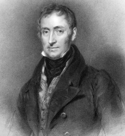 James Archibald Stuart-Wortley-Mackenzie, 1st Baron Wharncliffe (1776-1845) on engraving from 1836. British soldier and politician. Engraved by F.Holl after a painting by H.P.Briggs. Stock Photo - 9488540