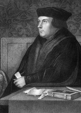 Thomas Cromwell, 1st Earl of Essex (1485-1540) on engraving from 1838. English statesman who served as chief minister of King Henry VIII during 1532-1540. Stock Photo - 9488747