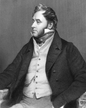 Charles Henry St John ONeill, 1st Earl ONeill (1779-1841) on engraving from 1800s. Irish politician, peer and landowner. Engraved by Brown after a painting by Phillips and published by G.Virtue. Editöryel