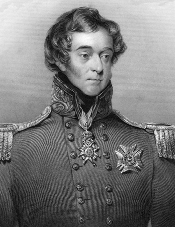 trench: General Sir Frederick William Trench (1777-1859) on engraving from 1800s. British soldier and Tory politician. Engraved by H.Robinson after a painting by Robson and published by G.Virtue.