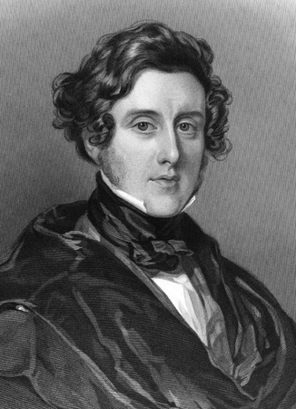 cooper: Anthony Ashley-Cooper, 7th Earl of Shaftesbury (1801-1885) on engraving from 1837. English politician and philanthropist. Engraved by H.Robinson after a painting by W.Ross and published by G.Virtue.