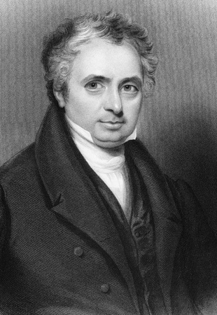 mp: William Holmes (1779-1851) on engraving from 1837. British Tory politician of early 19th century and MP for 28 years. Engraved by B.Freeman after a painting by J.Moore and published by G.Virtue. Editorial