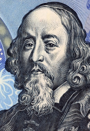John Amos Comenius (1592-1670) on 20 Korun 1988 Banknote from Czechoslovakia. Czech teacher, educator and writer.