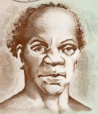 unc: Samuel Sharpe (1801-1832) on 50 Dollars 2009 Banknote from Jamaica. Slave leader behind the Jamaican Baptist War slave rebellion.