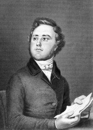 Alexandre Auguste Ledru-Rollin (1807-1874) on engraving from 1859. French politician. Engraved by unknown artist and published in Meyers Konversations-Lexikon, Germany,1859. Stock Photo - 15112684