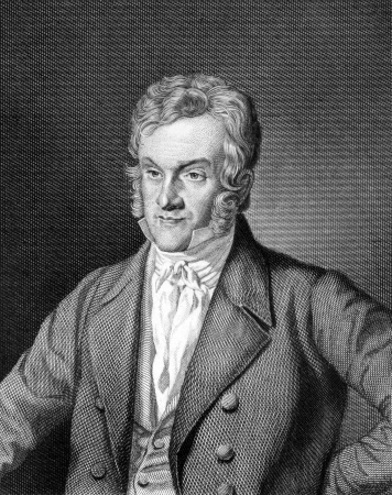 jurist: Carl Mittermaier (1787-1867) on engraving from 1859. German jurist. Engraved by C.Barth and published in Meyers Konversations-Lexikon, Germany,1859.