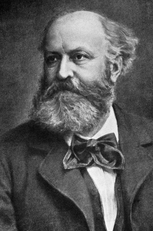 romeo and juliet: Charles Gounod (1818-1893) on engraving from 1908. French composer best known for his Ave Maria as well as his operas Faust and Romeo & Juliet. Engraved by unknown artist and published in The worlds best music, famous compositions for the piano. Volume