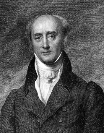 Charles Grey, 2nd Earl Grey (1764-1845) on engraving from 1859. Prime Minister of Great Britian during 1830-1834. Engraved by unknown artist and published in Meyers Konversations-Lexikon, Germany,1859. Stock Photo - 15110868