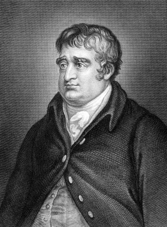 whig: Charles James Fox (1749-1806) on engraving from 1859.  British Whig statesman. Engraved by unknown artist and published in Meyers Konversations-Lexikon, Germany,1859.