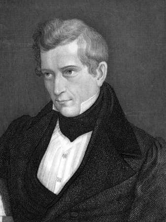 theologian: David Strauss (1808-1874) on engraving from 1859. German theologian and writer. Engraved by C.Mayer and published in Meyers Konversations-Lexikon, Germany,1859. Editorial