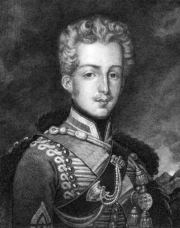 ferdinand: Ferdinand Philippe, Duke of Orleans (1810-1842) on engraving from 1859. Eldest son of Louis Philippe I. Engraved by G.Metzer and published in Meyers Konversations-Lexikon, Germany,1859.