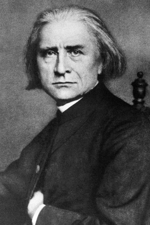 Franz Liszt (1811-1886) on engraving from 1908. Hungarian composer, pianist, conductor and teacher. Engraved by unknown artist and published in