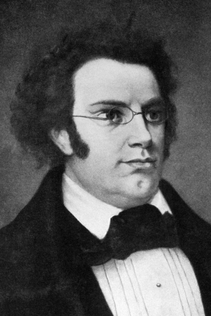 Franz Schubert (1797-1828) on engraving from 1908. Austrian composer. Engraved by unknown artist and published in