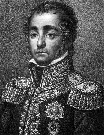 horace: Horace Francois Bastien Sebastiani de La Porta (1771-1851) on engraving from 1859. French soldier, diplomat, and politician. Engraved by Falke and published in Meyers Konversations-Lexikon, Germany,1859. Editorial