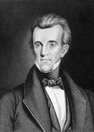president: James Knox Polk (1795-1849) on engraving from 1859.  11th President of the United States during 1845–1849. Engraved by unknown artist and published in Meyers Konversations-Lexikon, Germany,1859. Editorial