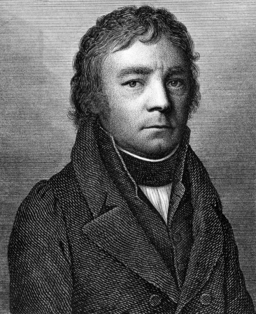 ess: Johann Heinrich van Ess (1772-1847) on engraving from 1859. German Catholic theologian. Engraved by Nordheim and published in Meyers Konversations-Lexikon, Germany,1859.