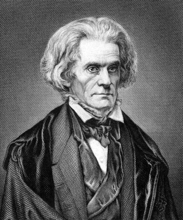 John Caldwell Calhoun (1782-1850) on engraving from 1859. United States politician and political theorist. Engraved by Nordheim and published in Meyers Konversations-Lexikon, Germany,1859. Stock Photo - 15112413
