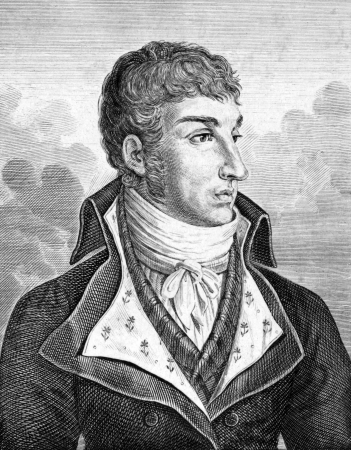 Jules de Polignac (1780-1847) on engraving from 1859. French statesman.Engraved by G.Metzeroth and published in Meyers Konversations-Lexikon, Germany,1859. Stock Photo - 15110766