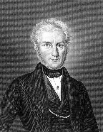 clergyman: Leberecht Uhlich (1799-1872) on engraving from 1859.  German clergyman. Engraved by unknown artist and published in Meyers Konversations-Lexikon, Germany,1859.