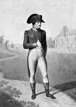 Napoleon Bonaparte (1769-1821) auf antiken Druck von 1899. Kaiser von Frankreich. Einer der brillantesten Individuen in der Geschichte, eine meisterhafte Soldat, eine unvergleichliche grand Taktiker und einer hervorragenden administrator.After Godefroy & Lingee und ver�ffentlicht in der 19t