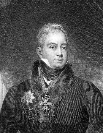 William IV of the United Kingdom (1765-1837) on engraving from 1859. King of Great Britain and Ireland and of Hanover 1830-1837. Engraved by unknown artist and published in Meyers Konversations-Lexikon, Germany,1859.
