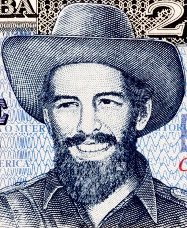 Camilo Cienfuegos  1932-1959  on 20 Pesos 2006 Banknote from Cuba  Cuban revolutionary  Stock Photo - 15461697