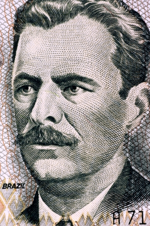 banknote uncirculated: Vital Brazil  1865-1950  on 10000 Cruzeiros 1993 Banknote from Brazil  Brazilian physician, biomedical scientist and immunologist
