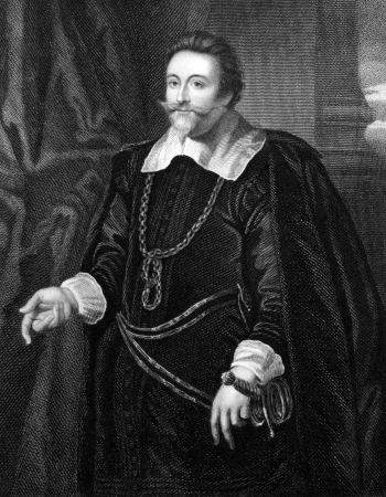 baron: Francis Cottington,1st Baron Cottington (1579-1652) on engraving from 1827. Engraved by T.A.Dean and published in Portraits of Illustrious Personages of Great Britain,UK,1827. Editorial