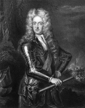 statesman: James Butler, 2nd Duke of Ormonde (1665-1745) on engraving from 1830. Irish statesman and soldier. Engraved by H.Robinson and published in Portraits of Illustrious Personages of Great Britain,UK,1830.