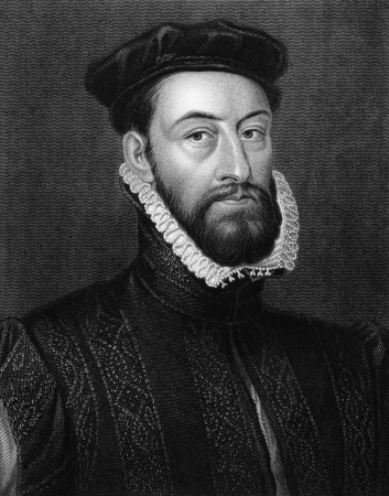 illustrious: James Stewart, 1st Earl of Moray (1531-1570) on engraving from 1829. Engraved by H.Robinson and published in Portraits of Illustrious Personages of Great Britain,UK,1829.