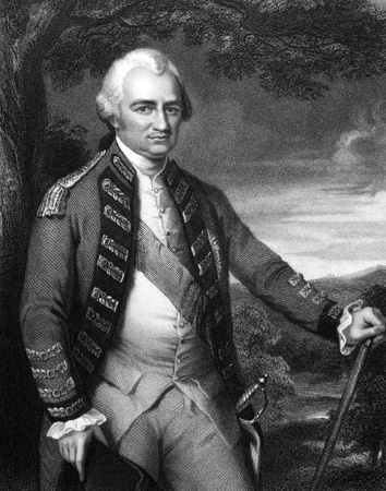 supremacy: Robert Clive, 1st Baron Clive (1725-1774) on engraving from 1832. British officer who established the military and political supremacy of the East India Company in Bengal. Engraved by W.T.Mote and published in Portraits of Illustrious Personages of Grea